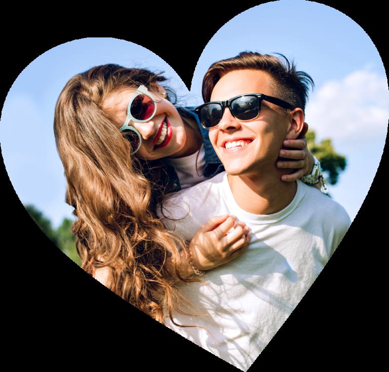 Exemple de couple dans une relation saine